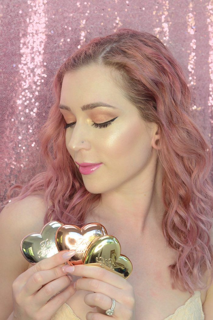 Too Faced Love Light Prismatic Highlighters Review For My Birthday!