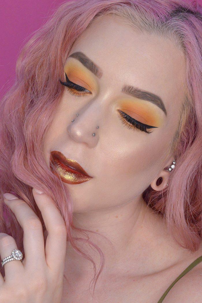 Fall Inspired Makeup Tutorial