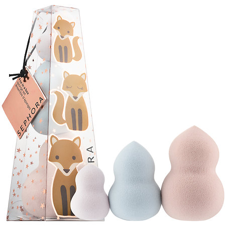 Los Angeles Cruelty-Free Beauty Blogger, Emily Wolf Beauty shares the best cruelty-free holiday gift guide for the holiday season. Sephora Fox in the Box Sponge Set