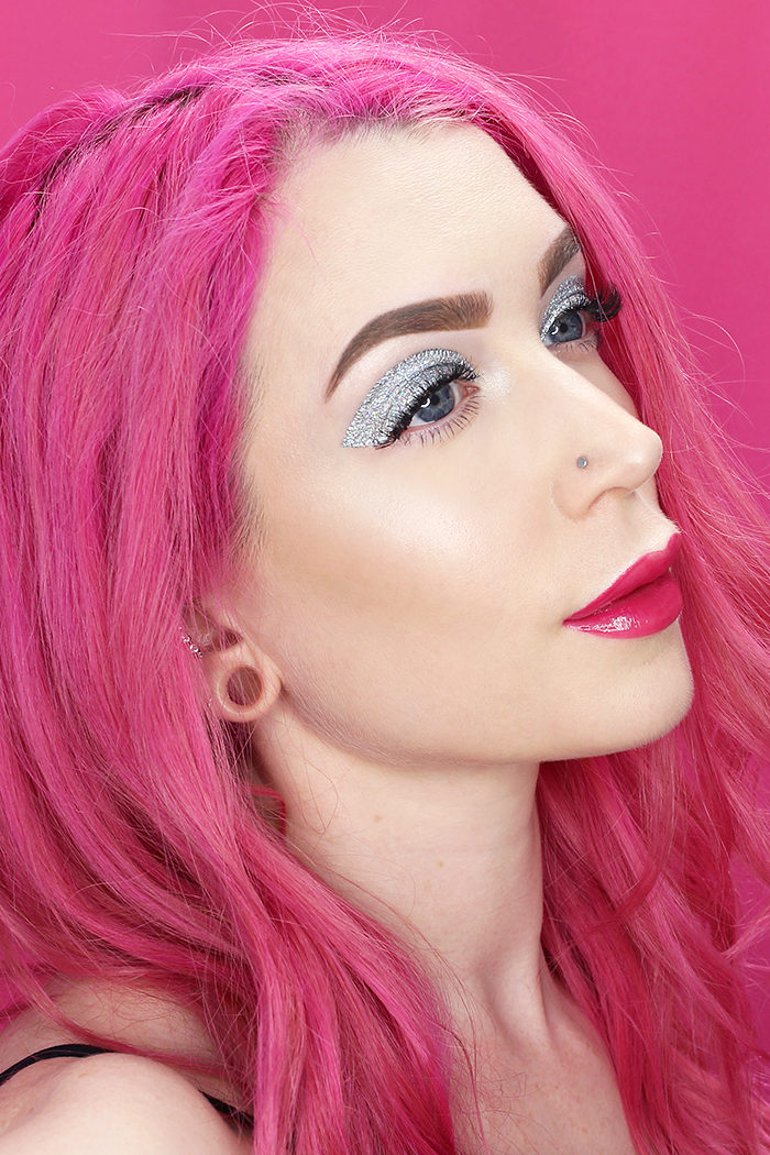 Easy Glittery New Year's Makeup Tutorial