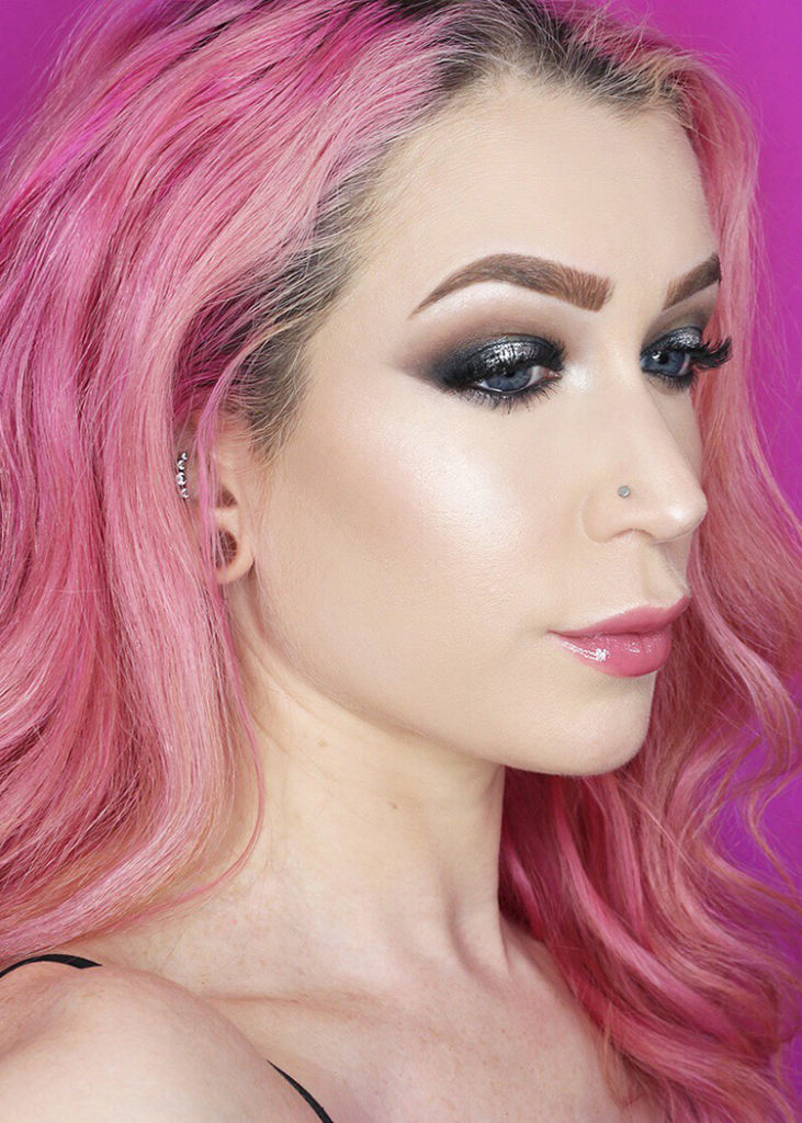 Smokey Halo Eye Makeup Tutorial with Los Angeles Cruelty-Free Beauty Blogger, Emily Wolf Beauty.