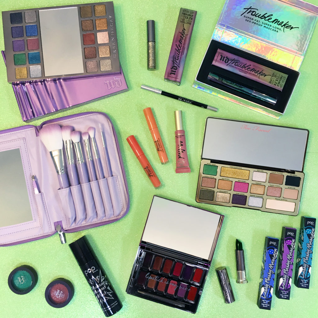urban decay, kat von d, too faced giveaway